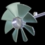 Axial turbine - blade & hub design